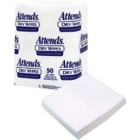 "Attends Dry Wipes, 10"" x 13"", Medium-Weight  482503-Pack(age)"