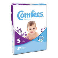 Comfees Baby Diapers - Size 5  48CMF5-Pack(age)