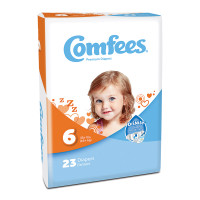 Comfees Baby Diapers - Size 6  48CMF6-Pack(age)