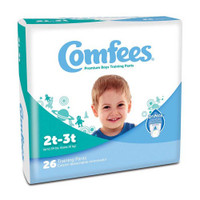 Comfees Boy Training Pants - Size 2T-3T  48CMFB2-Pack(age)