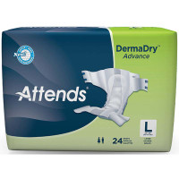 """Attends DermaDry Advance Briefs Large 44"""" - 58""""  48DDA30-Pack(age)"""