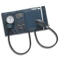 Adult PRECISION Aneroid Sphygmomanometers with Blue Nylon Cuff  6601140016-Each