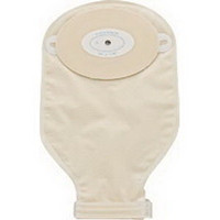 """1-Piece Post-Op Adult Drainable Pouch Cut-to-Fit Convex 3/4"""" x 1-1/2"""" Oval  79407234C-Box"""