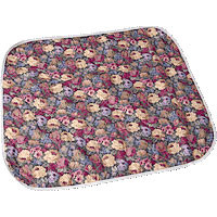 "CareFor Deluxe Designer Print Reusable Chair Pad 18"" x 18""  841969LP-Pack(age)"