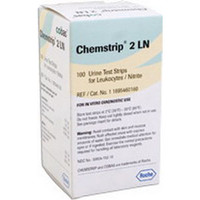 Chemstrip 2 LN Urine Reagent Test Strip (100 count)  59417152-Case