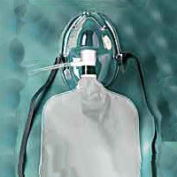 Adult Nonrebreathing Mask With Safety Vent  921059-Each