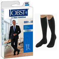Ambition Knee-High, 15-20, Long, Black, Size 3  BI7766002-Pack(age)