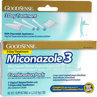 Miconazole 3 Combination Pack, Suppositories with Applicators and Cream  GDDLP13881-Case