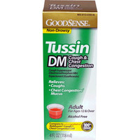 Tussin DM Cough and Chest Syrup for Adults, 4 oz.  GDDLP35926-Each
