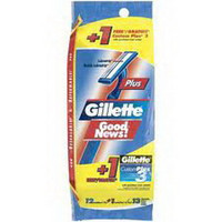 Gillette Goodnews Regular Razor, 12/Pkg  PH3546751-Pack(age)