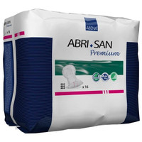 "Abri-San 11 Premium Shaped Pad, 15 x 29"" L  RB9389-Case"""