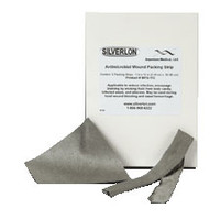 "Silverlon Antimicrobial Wound Packing Strip 1 x 24""  SRWPS124-Case"""