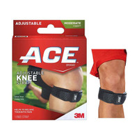 Ace Knee Brace with Strap, Latex-Free  88207359-Each
