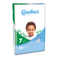 Comfees Baby Diapers - Size 7  48CMF7-Case