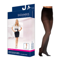 EverSheer Pantyhose, 15-20, Large, Long, Closed, Black  SG781PLLW99-Each