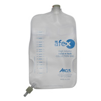 Afex Collection Bag, Direct Connect, 1000ml, Extra Capacity, Non-Vented  ARSA400E-Each