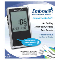 Embrace No Code Talking Meter  OH01AB0200B-Each