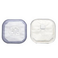 """Stoma Cap with Porous Cloth Tape Adhesive 3"""" Opening 4-1/4""""  503186-Box"""