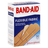 Band-Aid Flexible Fabric Adhesive Bandage  534431-Box