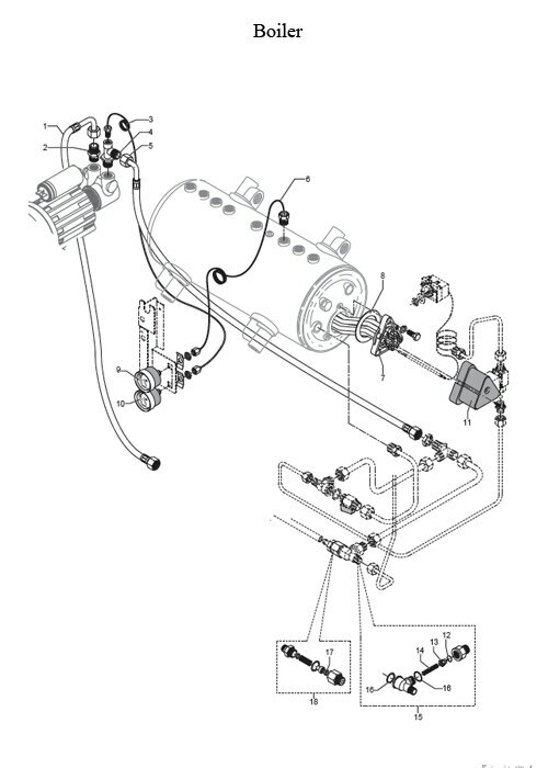 rancilio espresso machine parts