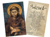 St. Francis of Assisi Holy Card