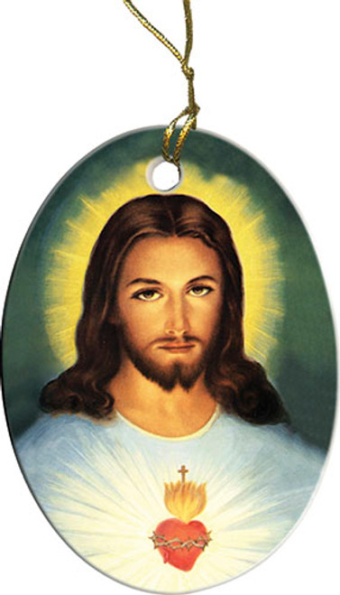 Traditional Sacred Heart Ornament