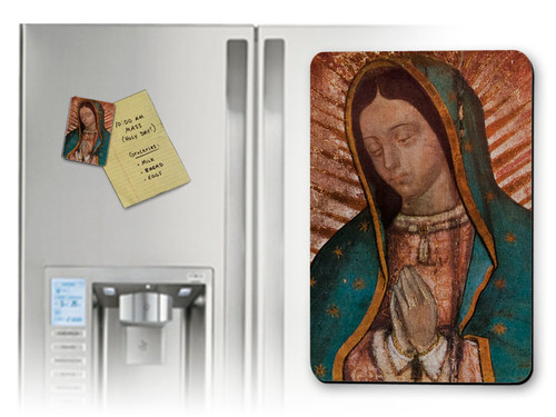 Our Lady of Guadalupe Detail Magnet