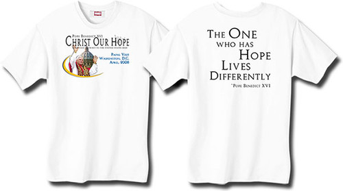 """""""One Who Has Hope"""" Pope Kids T-shirt"""