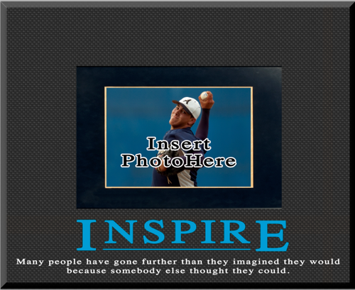 """Inspire"" Picture Frame"