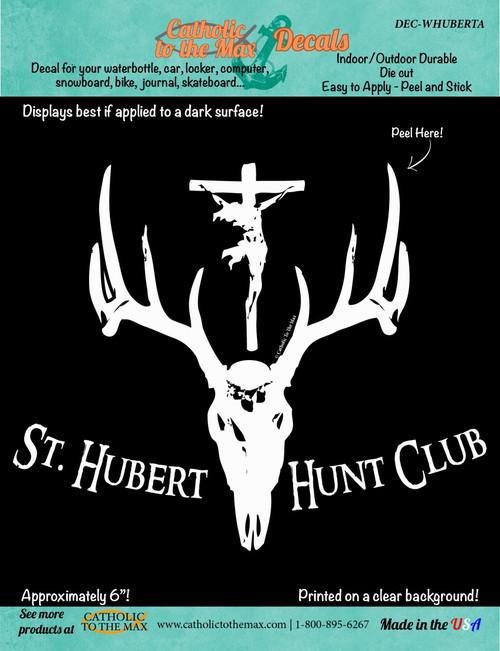 St. Hubert Hunt Club Decal