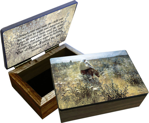 Flight into Egypt Keepsake Box