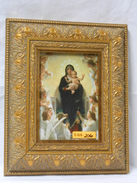 Queen of the Angels 5x7 Ornate Gold Framed Print