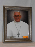 Pope Francis Smiling Framed Print