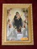 Queen of Angels 5x8 Bright Gold Framed Print