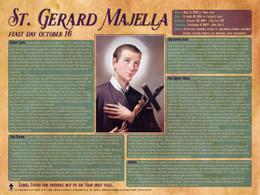 St. Gerard Majella Explained Poster