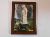 Our Lady of Fatima and Children 8x12 Framed Print