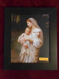 L'Innocence 8x10 Simple-Dark Framed Print