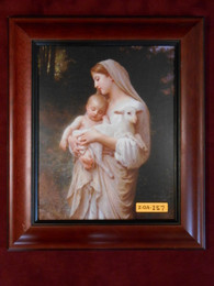L'Innocence 8x10 Brown Framed Print