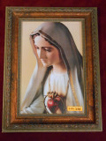 Our Lady of Fatima 8x12 Gold-Tint Framed Print