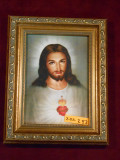 Sacred Heart of Jesus 5x7 Gold-Framed Print