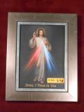 Divine Mercy 5x7 Silver Framed Print