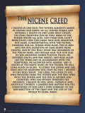 Nicene Creed Poster