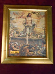 Resurrection 8x10 Gold Framed Print
