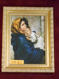 Madonna of the Streets 5x7 Framed Print