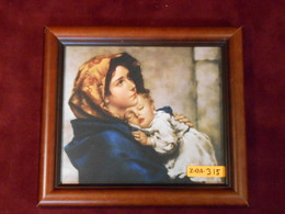 Madonna of the Streets 7x8 Framed Print