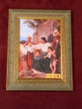 Jesus and the Children 5x8 Framed Print