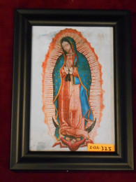 Our Lady of Guadalupe 6x9 Black Framed Print