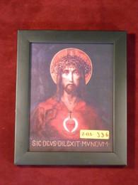 For God So Loved the World 5x7 Black Framed Print
