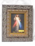 Divine Mercy 5x7 Dark Ornate Framed Print