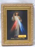 Divine Mercy 5x7 Embellished Gold Framed Print